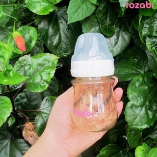 Bình sữa chính hãng Rozabi làm bằng Nhựa PPSU mẫu mới 2019