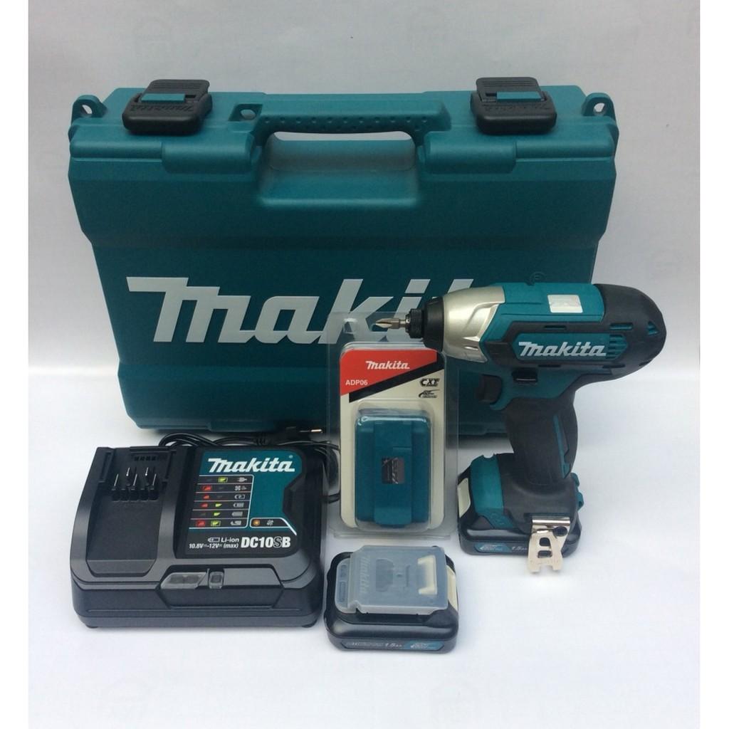 Bộ máy bắn vít Makita TD110DSYE tặng kèm dock sạc điện thoại ADP06 - 3465311 , 893618347 , 322_893618347 , 2450000 , Bo-may-ban-vit-Makita-TD110DSYE-tang-kem-dock-sac-dien-thoai-ADP06-322_893618347 , shopee.vn , Bộ máy bắn vít Makita TD110DSYE tặng kèm dock sạc điện thoại ADP06