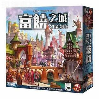 Bộ Bài Trò Chơi Citadels Trung Quốc Cổ Điển