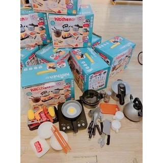 Bộ đồ chơi nấu ăn cho bé 36 món