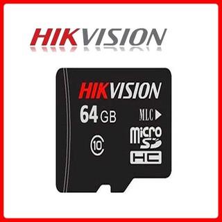 Thẻ Nhớ Hikvision 64GB C1 Class 10 Upto 92MB/s Chuyên Camera - Hàng Chính hãng Bảo Hành 5 năm