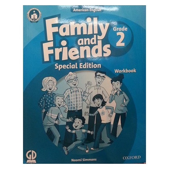 Sách - Family And Friends (Ame. Engligh) (Special Ed.) Grade 2: Workbook - 9780194801737