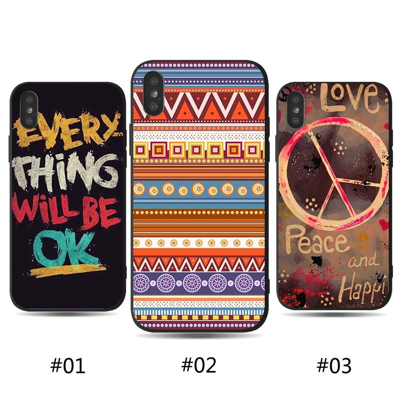 Ốp điện thoại thời trang phong cách bohemian cho Iphone 6 6s 6p 6sp 7 8 7p 8p X XS XR XS max