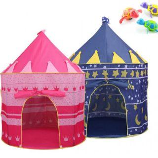 Lều công chúa , Hoàng tử hình dáng lâu đài cho bé ( không kèm bóng)