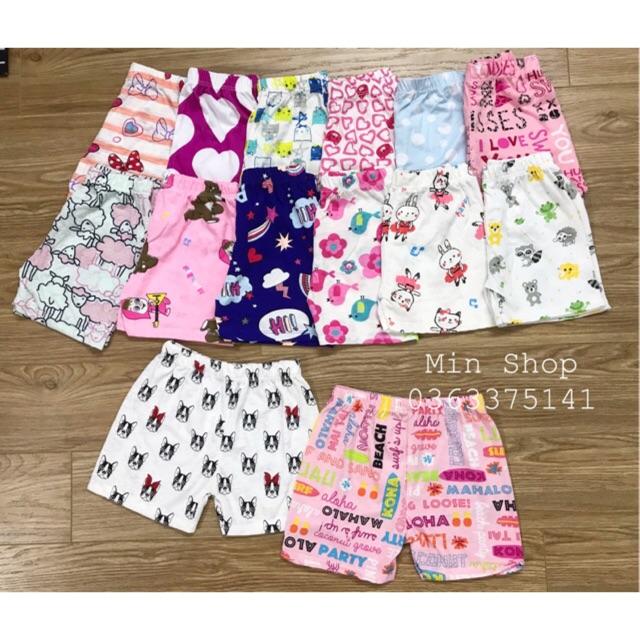 Set 10 quần cotton xuất dư