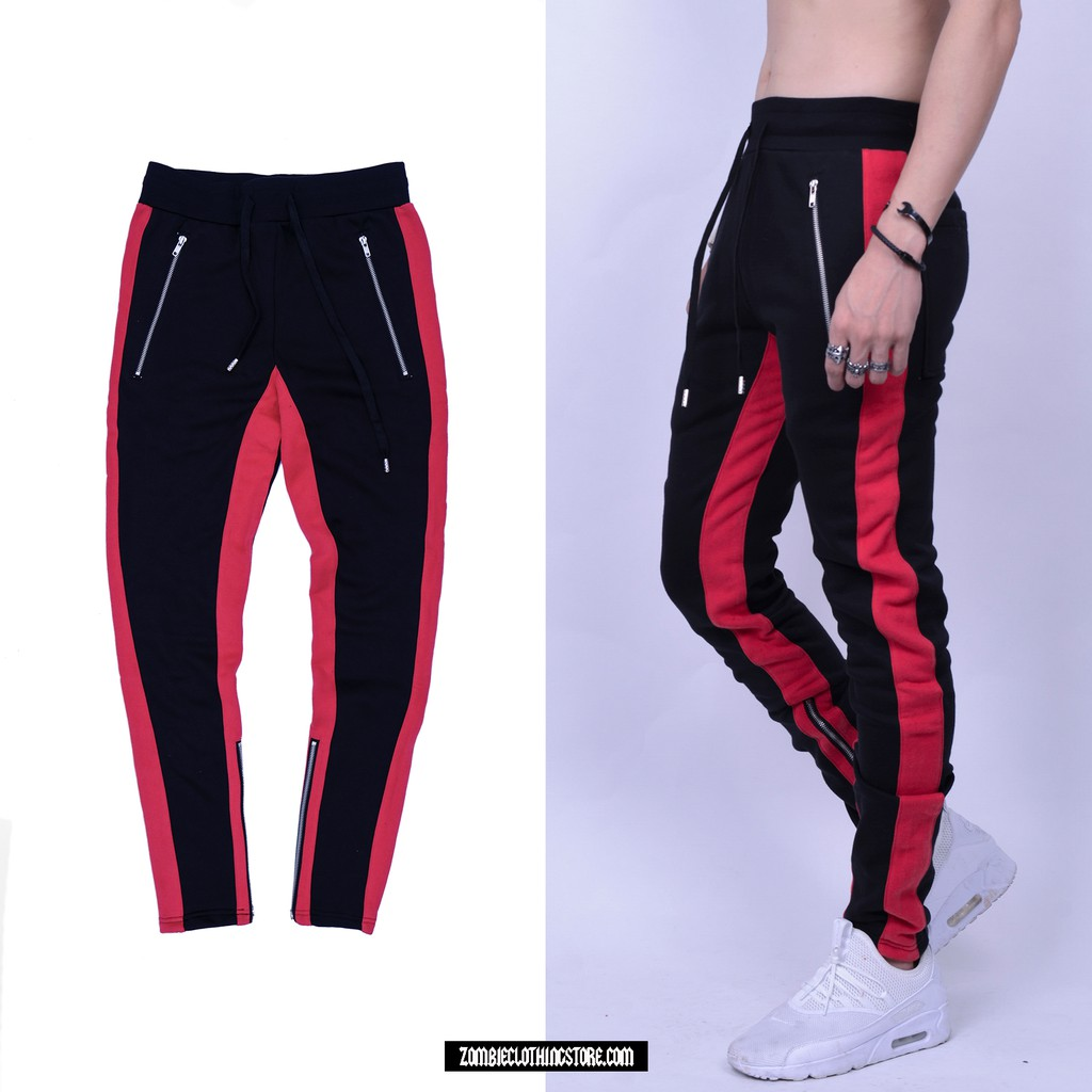 Red Lines Zipper Pants In Black - 3393427 , 1255362851 , 322_1255362851 , 320000 , Red-Lines-Zipper-Pants-In-Black-322_1255362851 , shopee.vn , Red Lines Zipper Pants In Black