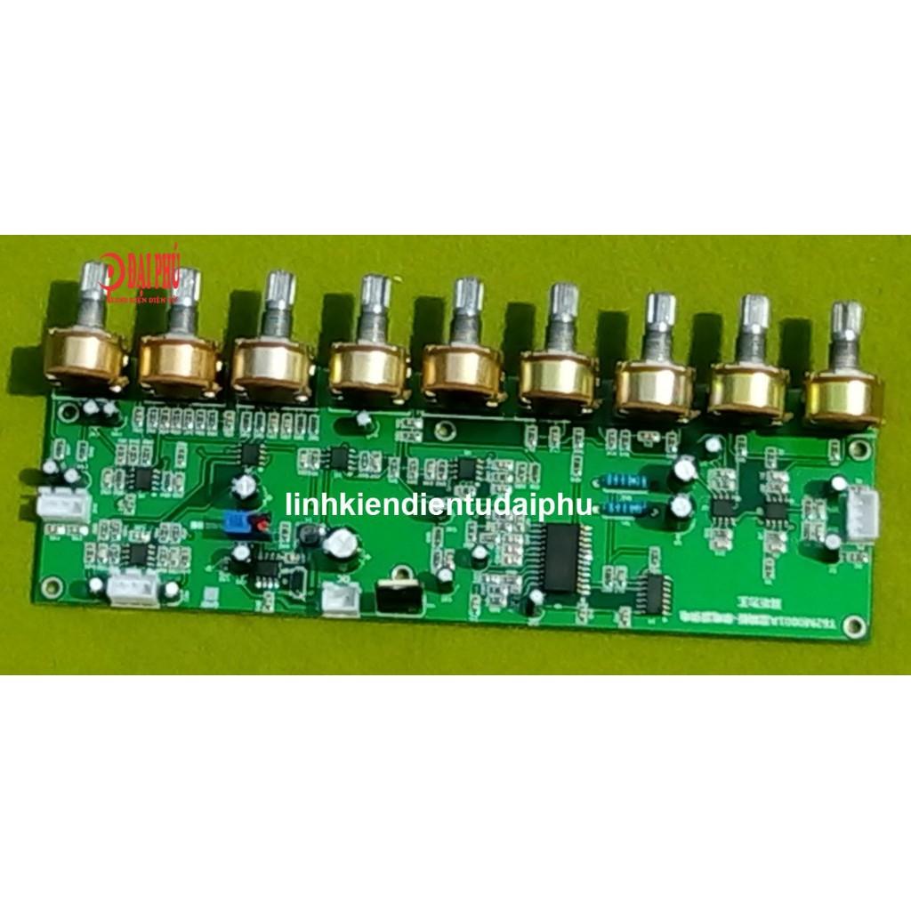 Mạch karaoke liền music dùng IC T62M0001A 12V Echo hiệu ứng reverb