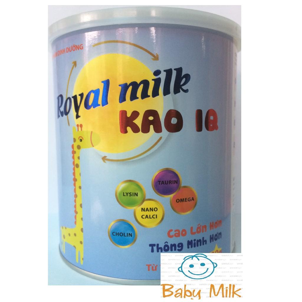 Sữa chiều cao, trí não Royal milk Kao IQ (900g) (date 2020) - 3029095 , 1159758951 , 322_1159758951 , 405000 , Sua-chieu-cao-tri-nao-Royal-milk-Kao-IQ-900g-date-2020-322_1159758951 , shopee.vn , Sữa chiều cao, trí não Royal milk Kao IQ (900g) (date 2020)