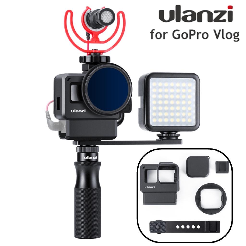 Upgrade Ulanzi V2 Pro Vlog Case Housing Shell For GoPro Hero 7 6 5 Vlogging Cage