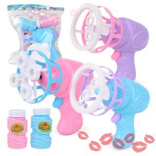 Magic Bubble Blower Machine Electric Automatic Bubble Maker Mini Fan Kids Outdoor Toys Wedding Supplies