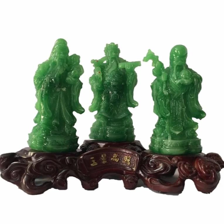 Phúc Lộc Thọ Phong Thủy MKPLT (xanh ngọc)