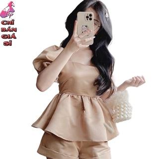 áo kiểu nữ cổ vuông tay ngắn mẫu mới thời trang 2021 thumbnail
