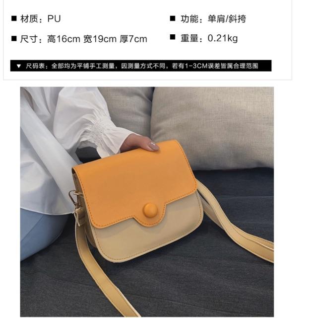 Túi xách đeo chéo trơn mẫu mới X2