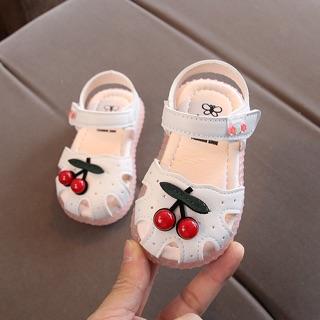 Dép sandal cho bé gái từ 1-4 tuổi hình quả cherry – hàng quảng châu