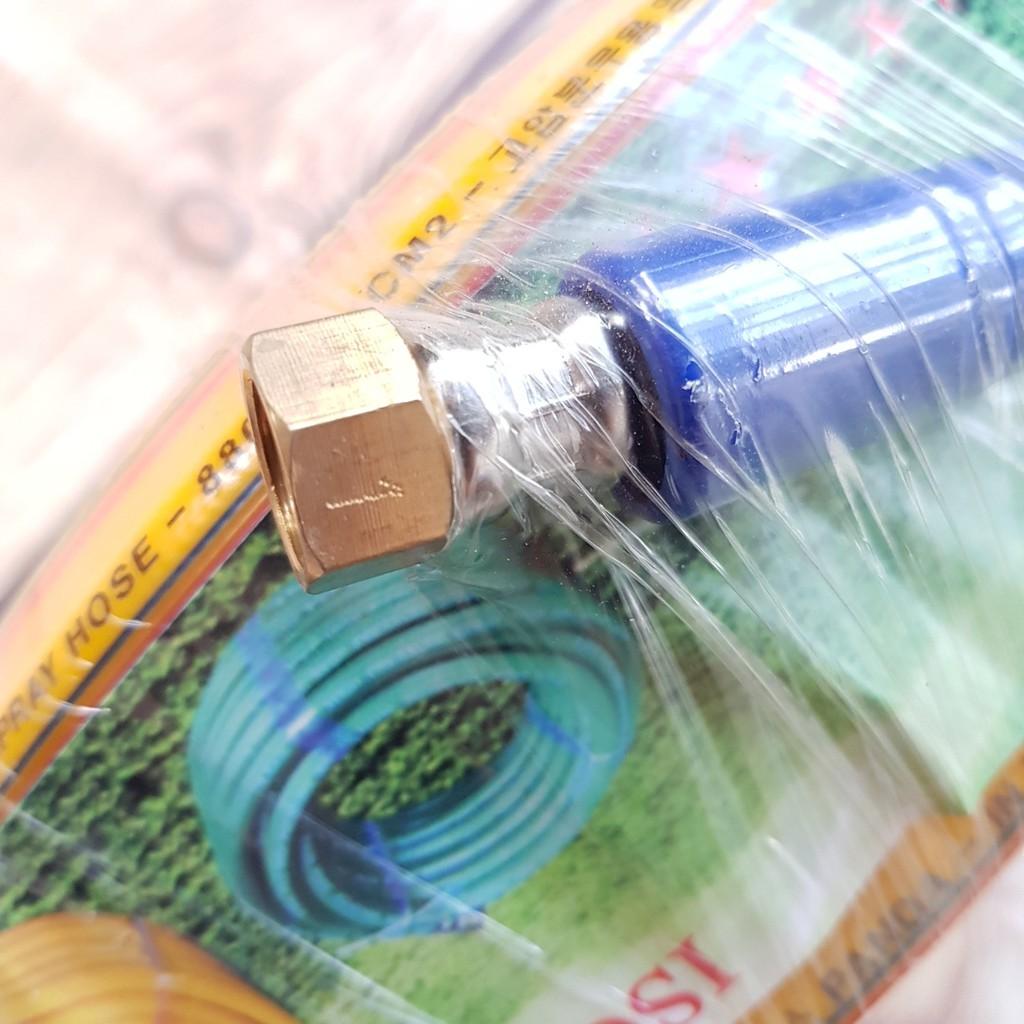 [Sập Sàn] Cuộn Ống dây rửa xe 10M-15m-20m cao cấp loại tốt cho máy bơm xịt rửa áp lực cao -Ren trong ngoài 14mm