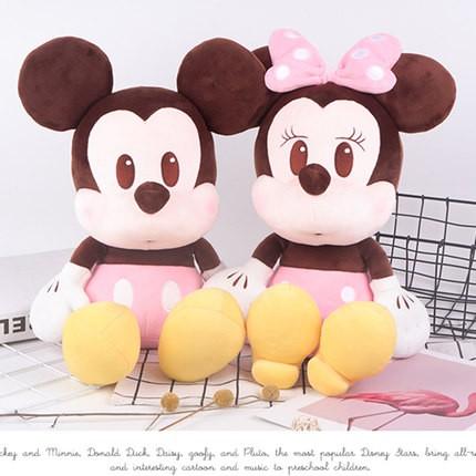 Thú Nhồi Bông Hình Chuột Mickey / Vịt Donald / Daisy Đáng Yêu