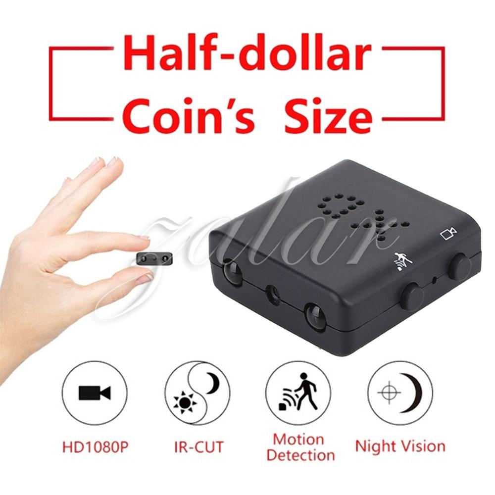 Smallest Mini DV Camcorder Security Camcorder IR-CUT Mini Camera Giá chỉ 436.364₫