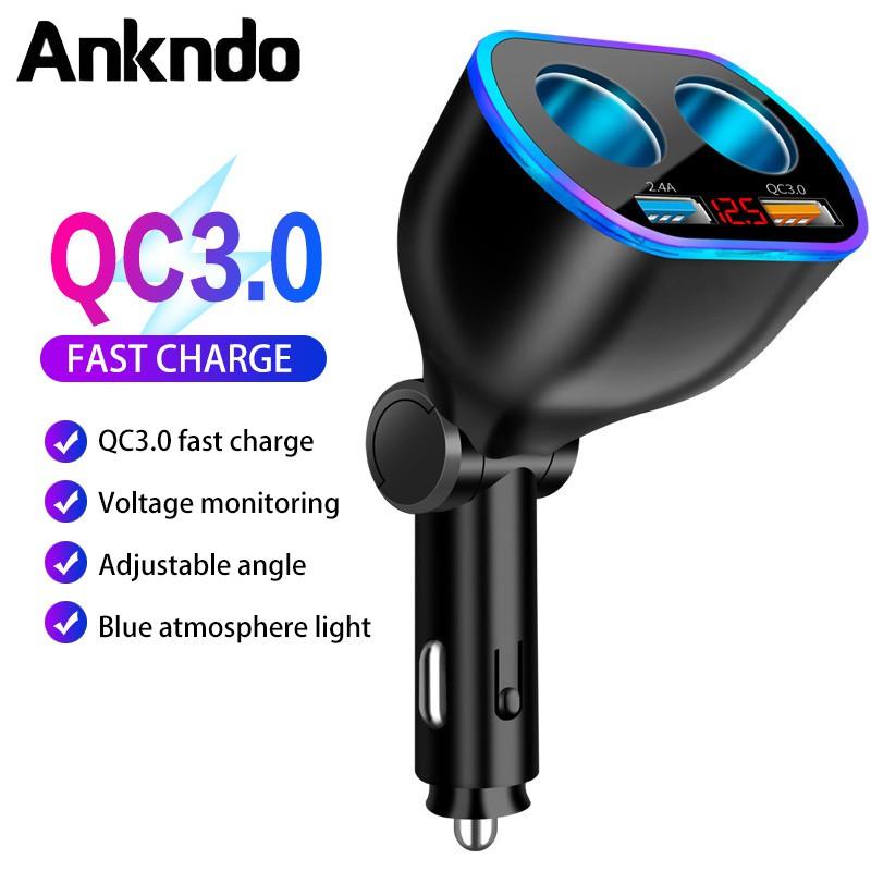 Củ sạc nhanh Ankndo USB QC3.0 cho điện thoại Samsung GPS