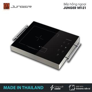 Bếp đơn hồng ngoại Junger MT-21 - Công suất 2200W - mặt kính Ceramic | Bảo hành 12 tháng chính hãng | MADE IN THAILAND