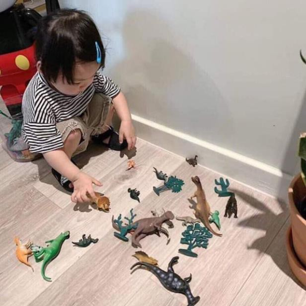 [Uy tín - Hàng Loại 1] Bộ khủng long cho bé, bộ sưu tập mô hình khủng long thời tiền...