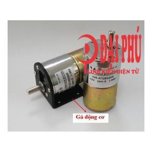 Động cơ giảm tốc 37GB520 Torque cao 12V 52 v/p – DIY võng đưa tự động