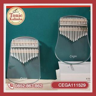 Đàn kalimba 17 phím trong suốt CỔ TÍCH CEGA111529-JK62 D0ầy đủ phụ kiện, âm chuẩn, thiết kế trong suốt cổ tíc