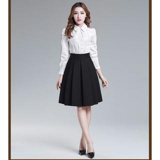 Chân váy xòe thời trang có 2 túi – VXLXBICH041016075