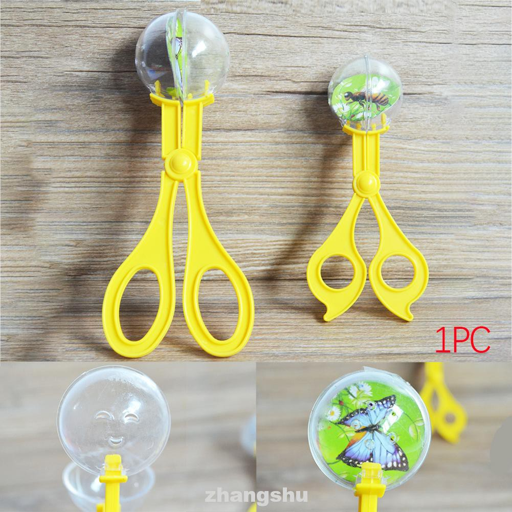 Collection Educational For Kids Multifunctional Plastic Random Color Insect Catcher Scissors