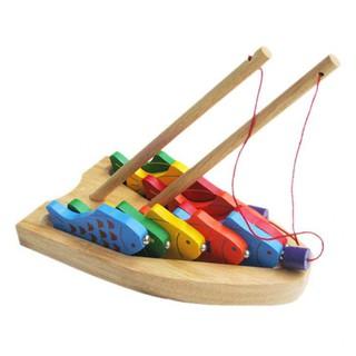 Bộ đồ chơi câu cá 10 số bằng gỗ 60362 – WINWINTOYS