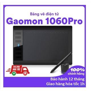 [CHÍNH HÃNG, HÀNG CÓ SẴN ] Bảng vẽ điện tử Gaomon 1060Pro – 10×6 inch,8192 cấp độ lực, độ nhạy cao, độ trễ thấp