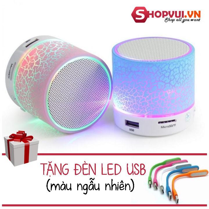 Loa Bluetooth có đèn led nháy theo nhạc + Đèn Led USB