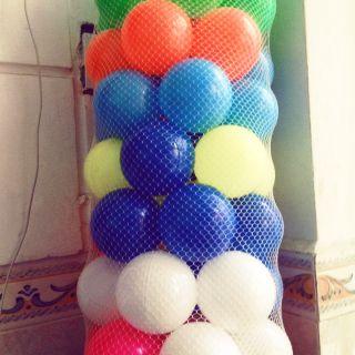 Combo 100 bóng chơi nhà banh cho trẻ em