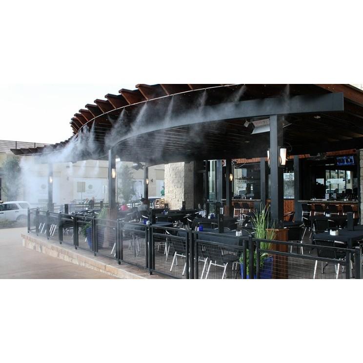 Bộ béc phun sương số 2 và đế đồng phun quán cafe, quán ăn, làm mát tưới lan, mát nhà xưởng