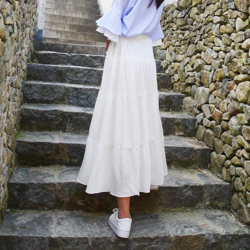 Chân váy dài tầng - 3459543 , 1010323751 , 322_1010323751 , 300000 , Chan-vay-dai-tang-322_1010323751 , shopee.vn , Chân váy dài tầng
