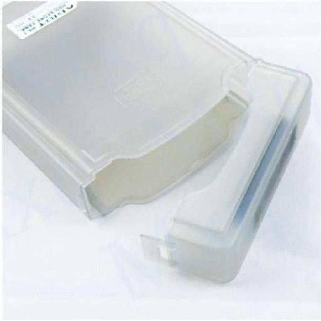 การ์ดหน่วยความจำคอมพิวเตอร์ 3.5'' IDE SATA HDD Hard Drive Disk Protection Plastic Storage Box Case Enclosure Greyาร์ดหน่