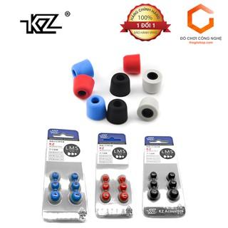Bộ 3 mút tai nghe KZ cho ZST, ZST Pro, ZS3, ZS5, ZS6 thumbnail