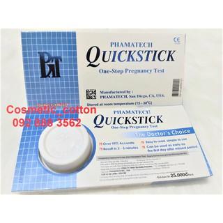 Bộ 4 Que thử thai Quickstick – test thử thai nhanh hiệu quả