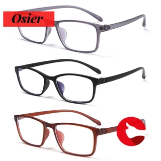 👒OSIER🍂 TR90 Presbyopia Eyewear Lightweight Blue Light Protection Reading Glasses Vision Care Women Men Retro Clear Lens UltraLight +0.00~+4.0 Diopter Magnifying Eyeglasses/Multicolor