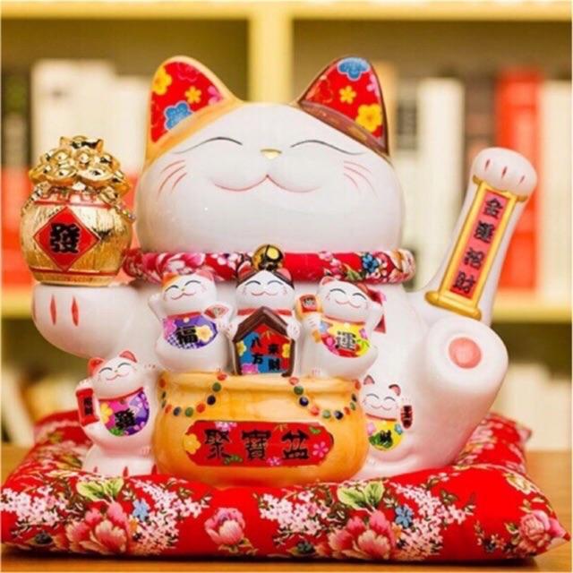 Mèo thần tài Trang Trí