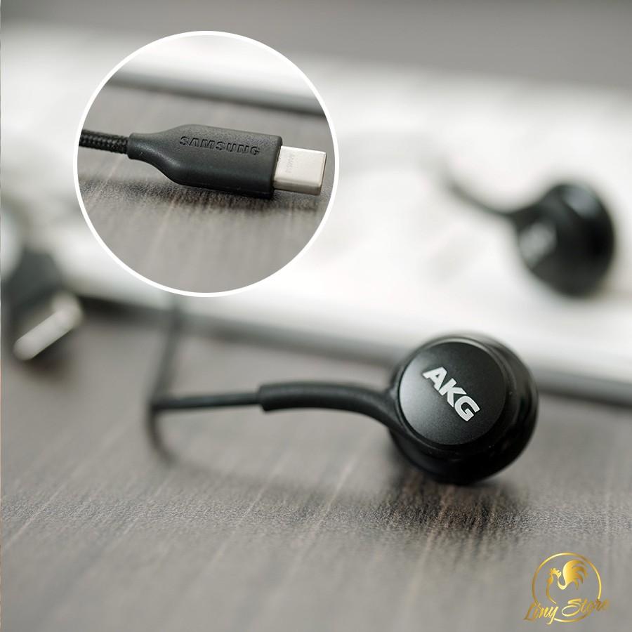 Tai nghe AKG Note 10 Note 20 S20 Note 10 Plus S20 plus S20 Ultra chân Type  C chính hãng TẶNG 4 nút tai phụ - Tai nghe có dây nhét tai