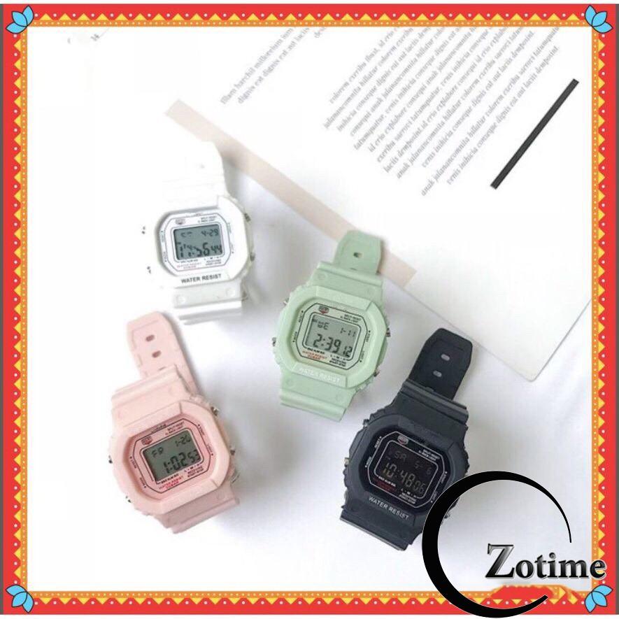 Đồng hồ thể tham nam nữ mặt vuông siêu đẹp ZO78