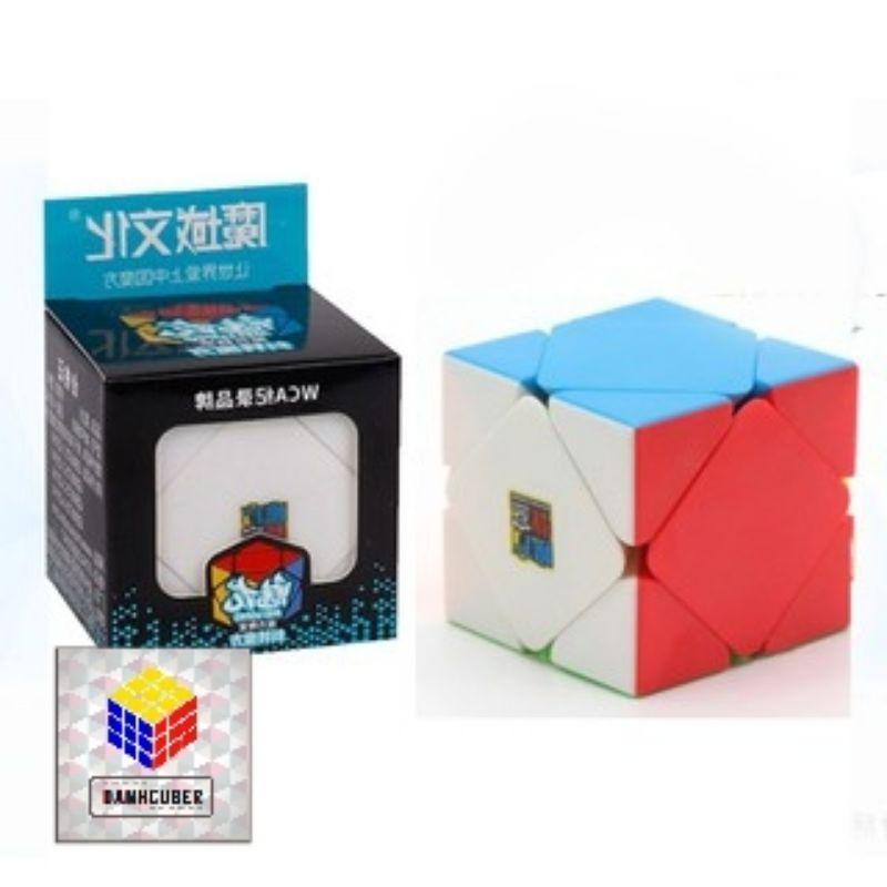 Rubik Skewb Stickerless MoYu MeiLong MFJS Rubik Biến Thể