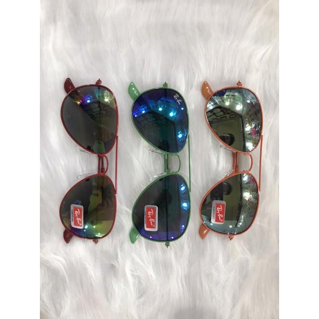 kính chống nắng gọng giọt lệ nhiều màu thời trang cho bé