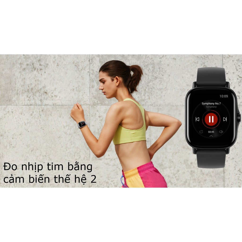 [Mã SKAMPUSHA7 giảm 8% đơn 250k]Đồng hồ thông minh Amazfit GTS 2 Có nghe gọi - Bảo hành chính hãng Việt Nam 12 Tháng