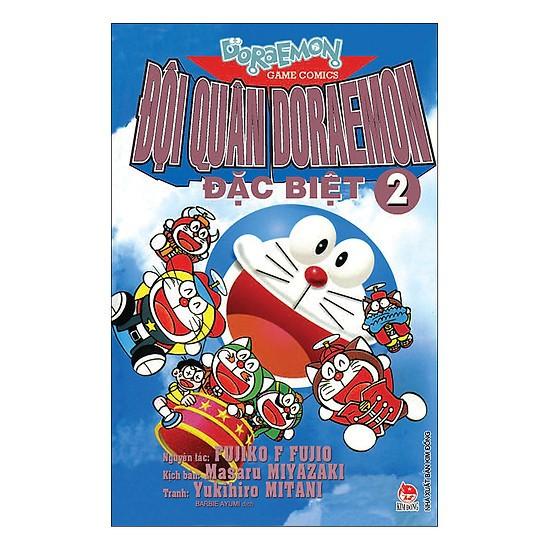 Sách - Đội Quân Doraemon Đặc Biệt - Tập 2 (Tái Bản 2019) - 9786042129626