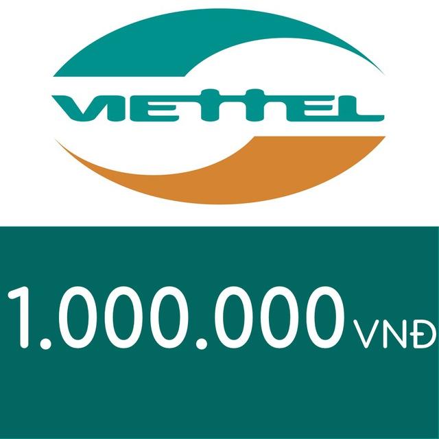 Mã thẻ điện thoại Viettel 1TR