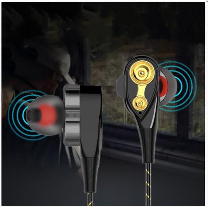 Ele】Tai nghe nhét tai thể thao Eorv3s âm thanh siêu trầm có mic