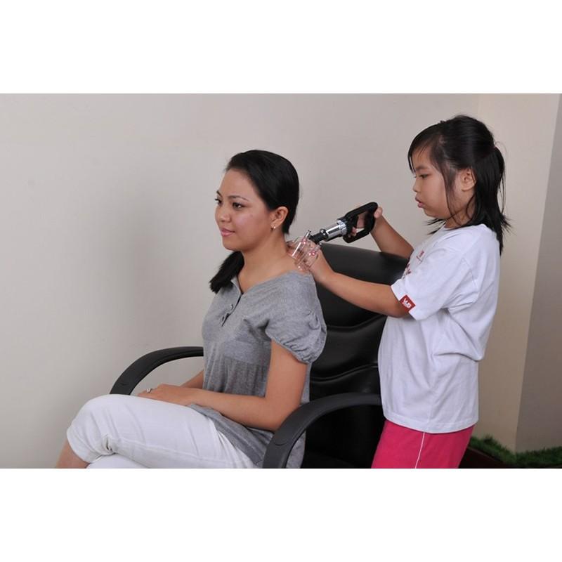 Bộ giác hơi không dùng lửa Duy Thành làm giảm chứng đau lưng, đau vai, gáy, nhức mỏi, điều hòa kinh mạch
