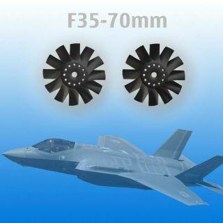 Cánh quạt máy bay phản lực F35-70mm dùng cho máy bay điều khiển