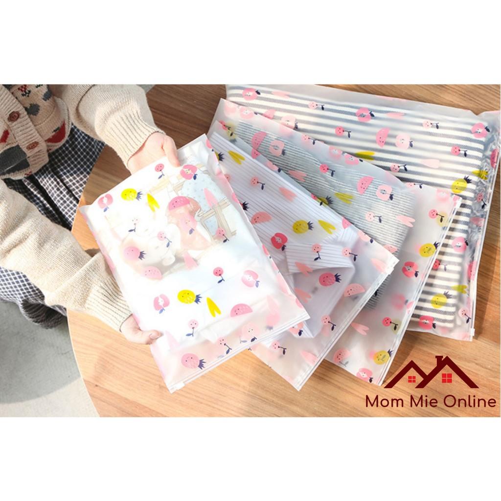 Túi zip nhựa đựng vật dụng, quần áo chống thấm - J166
